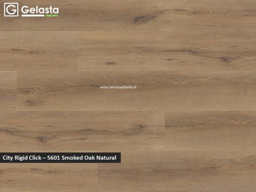 Gelasta City Rigid Click - 5601 Smoked Oak Natural