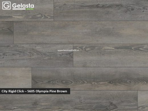 Gelasta City Rigid Click - 5605 Olympia Pine Brown