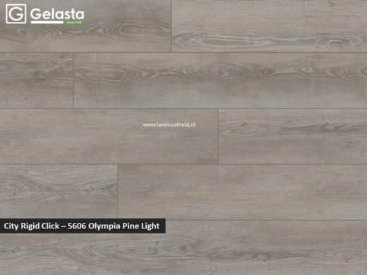 Gelasta City Rigid Click - 5606 Olympia Pine Light