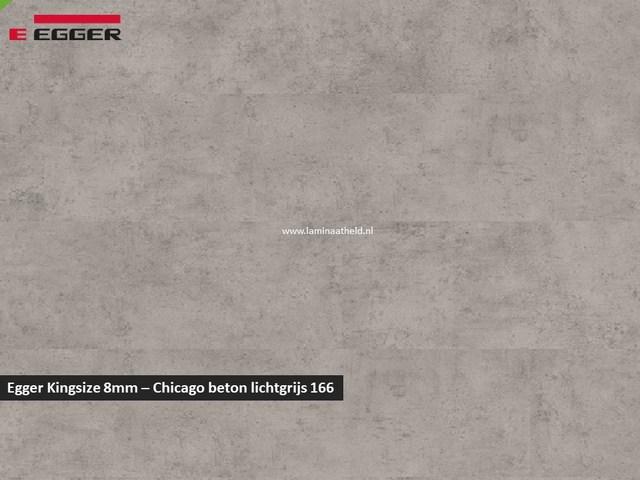 Egger Kingsize 8mm - Chicago beton lichtgrijs 166