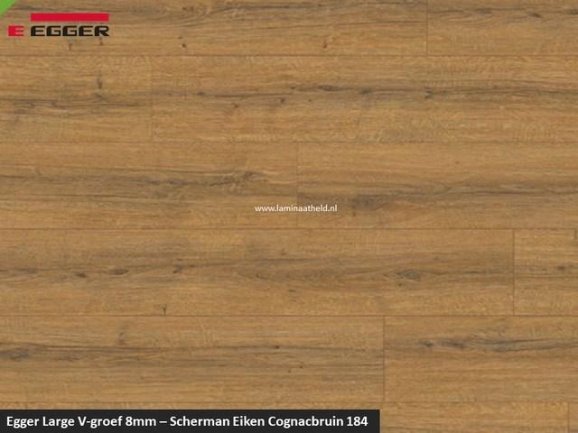 Egger Large 8mm - 184 Sherman eiken cognacbruin V4