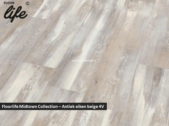 Floorlife Midtown Collection - Antiek eiken beige 2420 V4