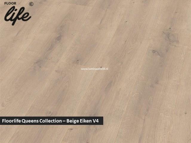 Floorlife Queens Collection - Beige Eiken V4