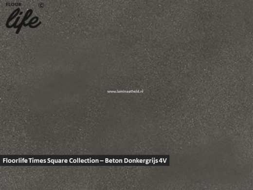 Floorlife Times Square Collection - Beton donkergrijs V4