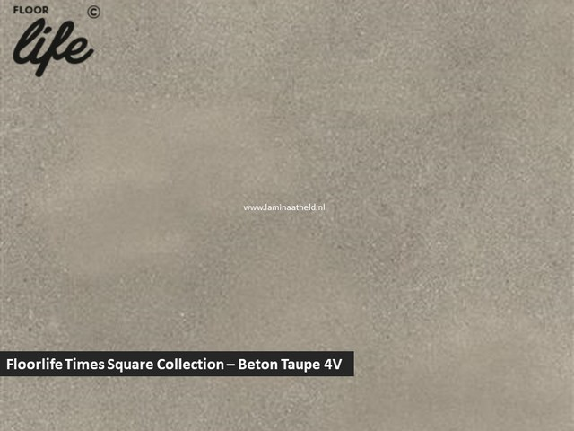 Floorlife Times Square Collection - Beton taupe V4