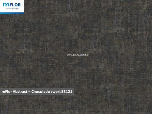 mFlor Abstract - Chocalate Black 53121
