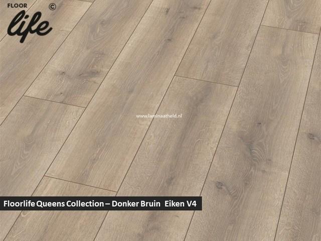 Floorlife Queens Collection -Donker Bruin Eiken V4