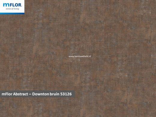 mFlor Abstract - Downton Brown 53126