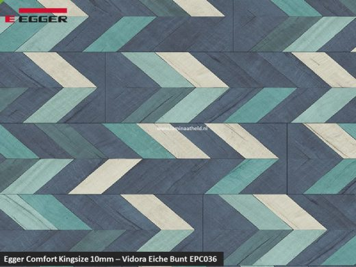 Egger Comfort Kingsize 10mm - EPC036 Vidora Eiche bunt V4