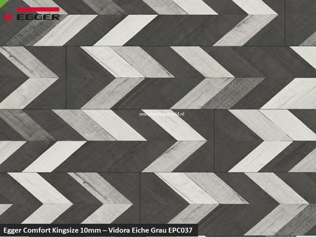 Egger Comfort Kingsize 10mm - EPC037 Vidora Eiche grau V4