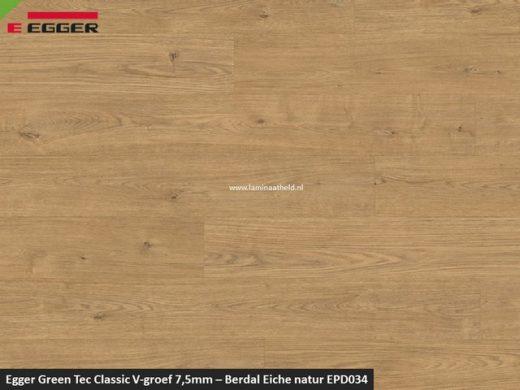 Egger GreenTec Classic - EPD034 Berdal Eiche Natur V4