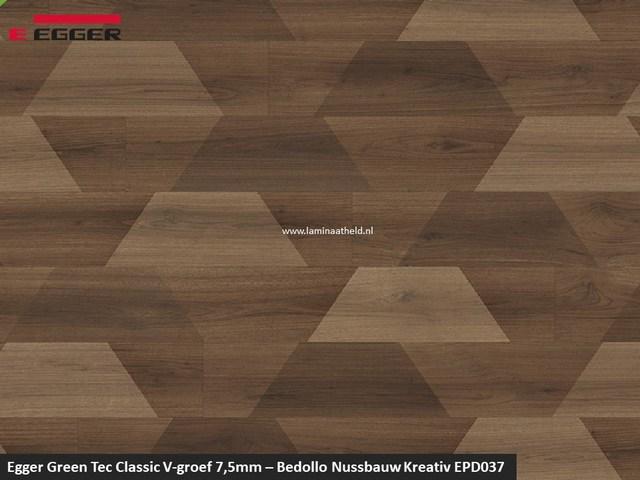 Egger GreenTec Classic - EPD037 Bedollo Nussbaum Kreativ V4