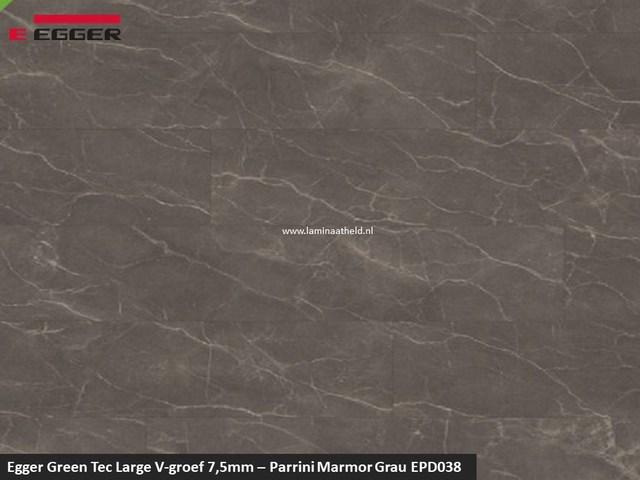 Egger GreenTec Large - EPD038 Parrini Marmor Grau V4