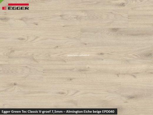 Egger GreenTec Classic - EPD040 Almington Eiche beige V4