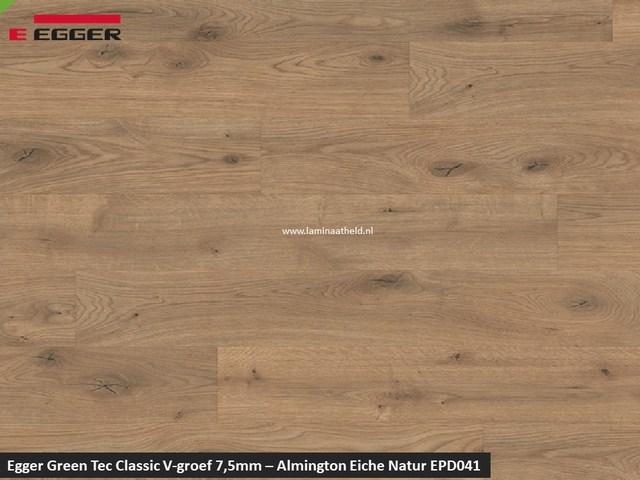 Egger GreenTec Classic - EPD041 Almington Eiche natuur V4