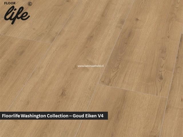 Floorlife Washington Collection - Goud eiken V4