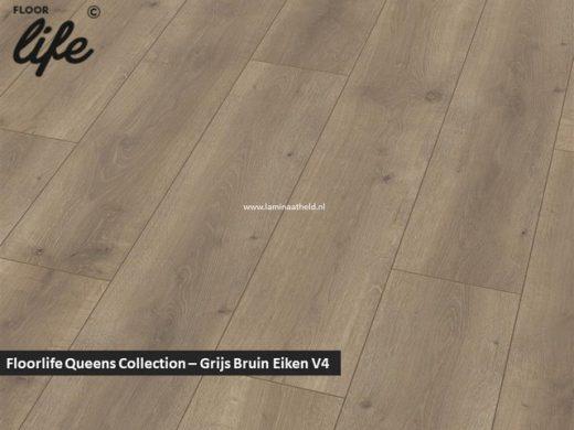 Floorlife Queens Collection - Grijs Bruin Eiken V4