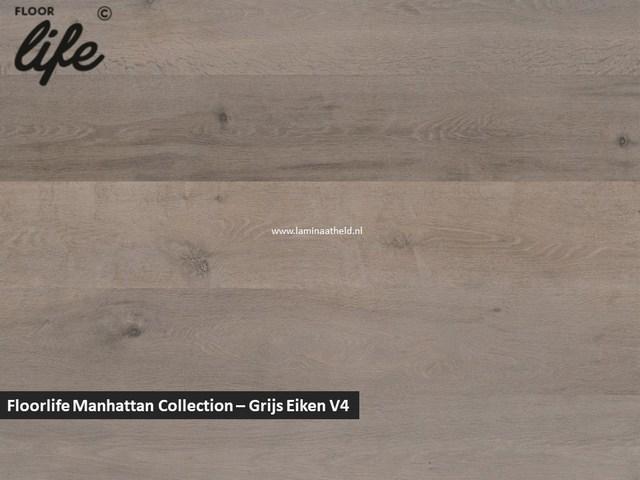Floorlife Manhattan Collection - Grijs eiken V4