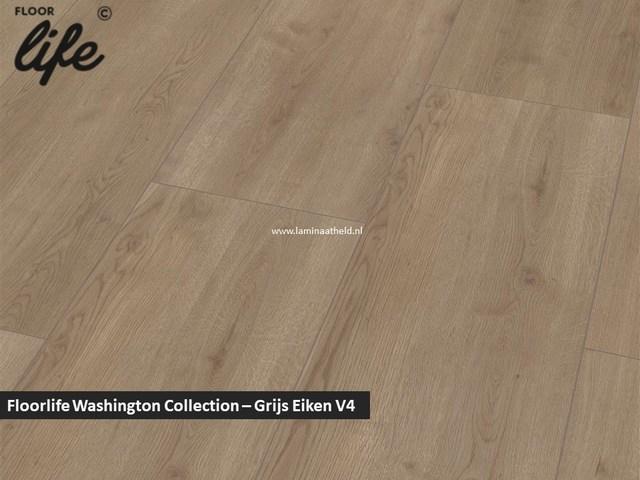 Floorlife Washington Collection - Grijs eiken V4