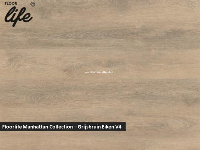 Floorlife Manhattan Collection - Grijsbruin eiken V4