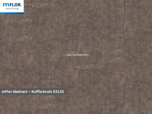 mFlor Abstract - Coffee Brown 53125