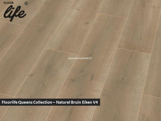 Floorlife Queens Collection - Naturel Bruin Eiken V4