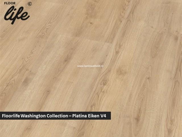 Floorlife Washington Collection - Platina eiken V4