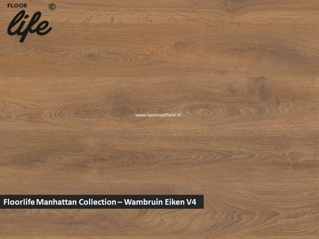 Floorlife Manhattan Collection - Warmbruin Eiken V4