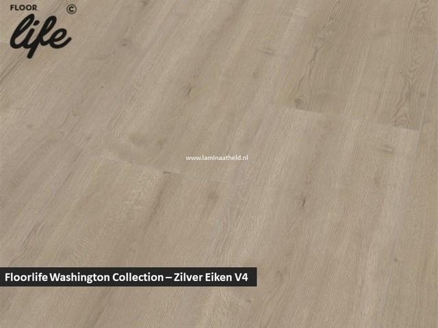 Floorlife Washington Collection - Zilver eiken V4