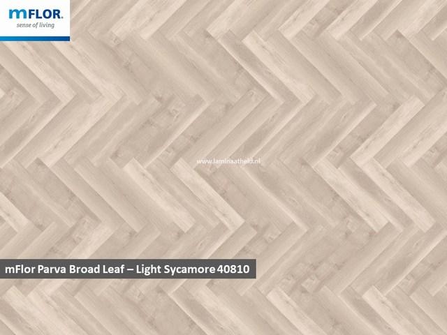 mFlor Parva Plus Broadleaf - Light Sycamore 40810