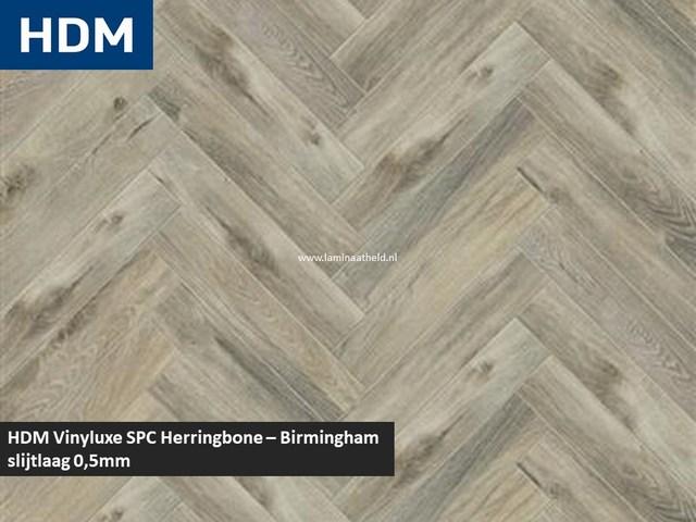 Vinyluxe SPC Herringbone - Birmingham