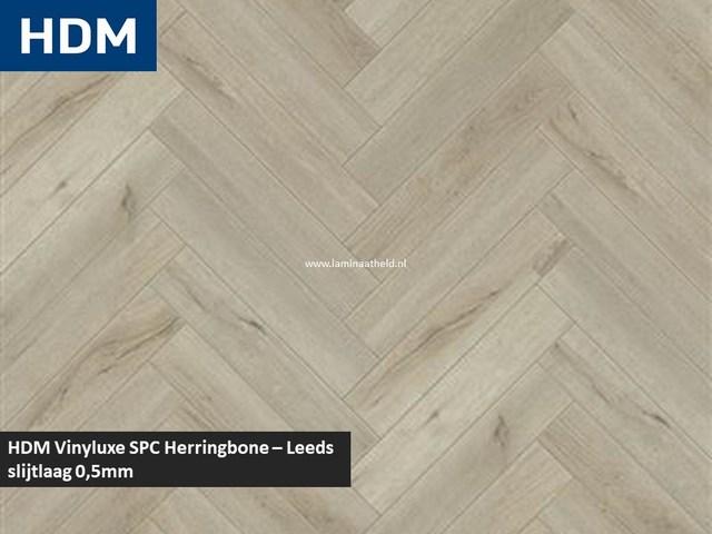 Vinyluxe SPC Herringbone - Newcastle