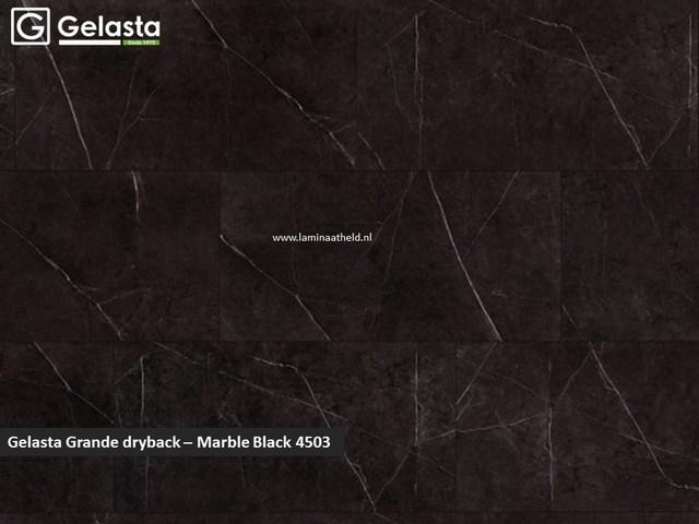 Gelasta Grande dryback - Marble Black 4503
