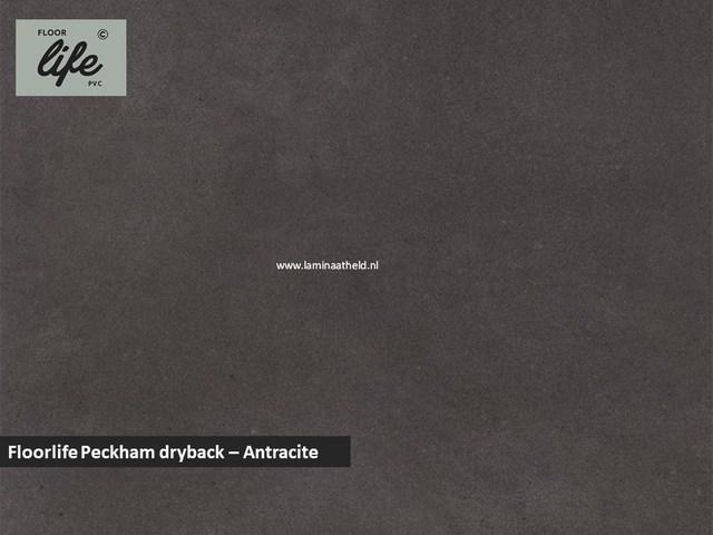 Floorlife Peckham dryback pvc - Antracite