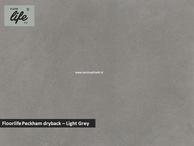 Floorlife Peckham dryback pvc - Light Grey