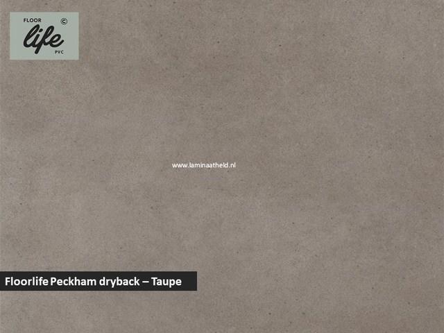 Floorlife Peckham dryback pvc - Taupe