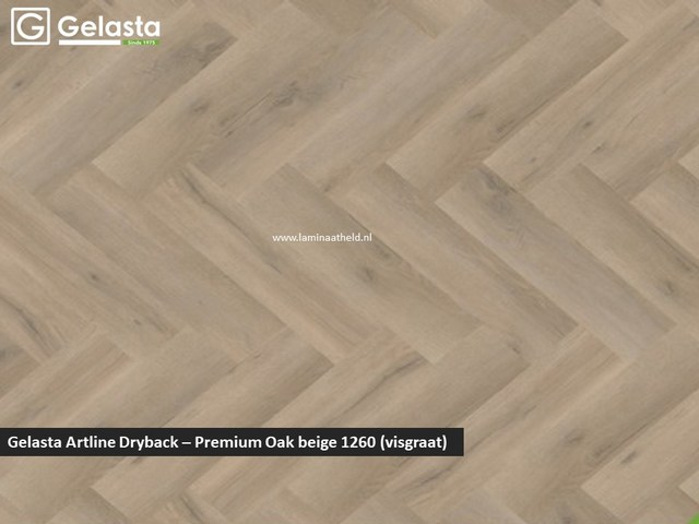 Gelasta Artline dryback - Premium Oak beige
