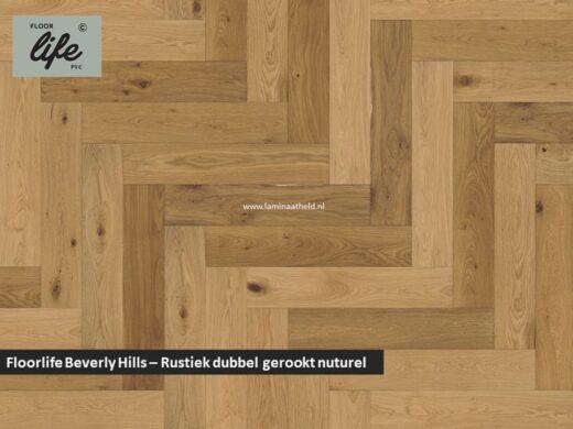 Floorlife Beverly Hills - Rustiek dubbel gerookt naturel geolied