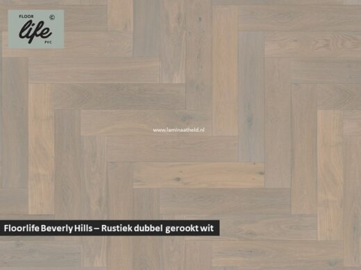 Floorlife Beverly Hills - Rustiek dubbel gerookt wit geolied