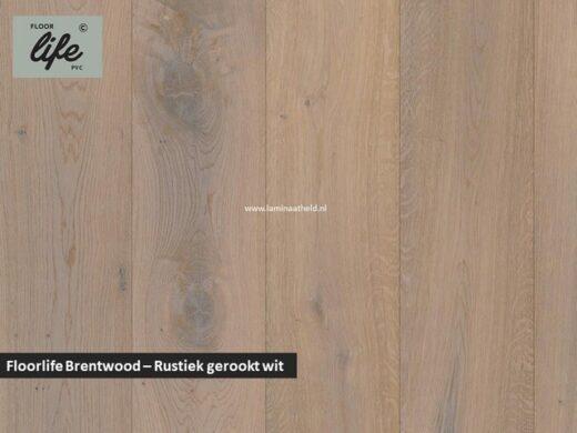 Floorlife Brentwood - Rustiek gerookt wit geolied